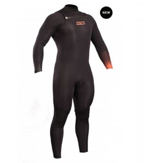 Gul  Flexor III - Mens 3/2 Chest Zip Wetsuit