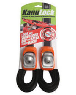 KanuLock -  Lockable racks with Steel Reinforced Roof rack Straps