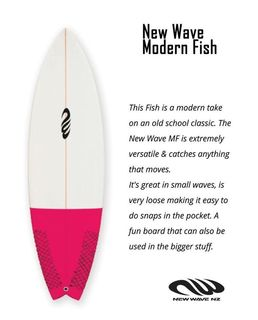 New Wave Modern Fish
