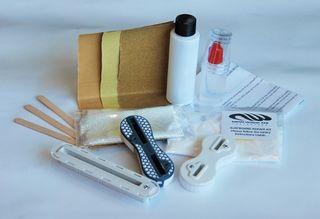 Surfboard Repair Kit- Fin Box - Epoxy resin