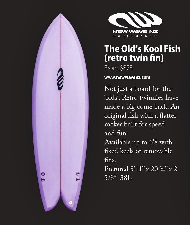 The Old's Kool Fish ( retro twin fin)