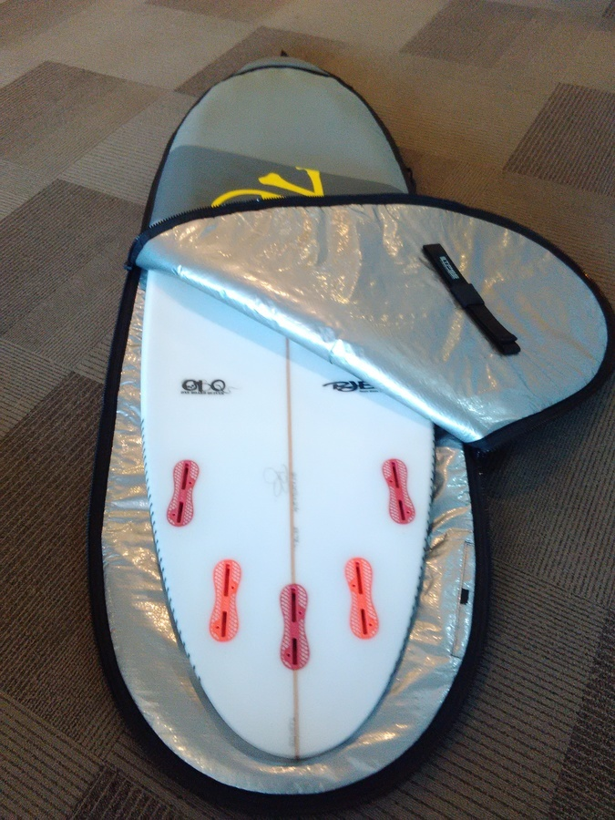 Curve NEW Surfboard Bag MINI SIMMONS Surfboard Day Cover - Supermodel RETRO  - by size 53 967f051bdb659