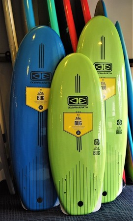 O & E The Bug Mini Softboards