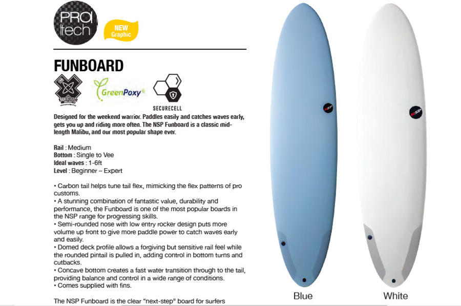 NSP Protech - Funboard