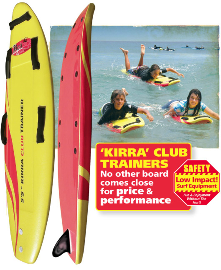 Nipper foamie club trainer boards
