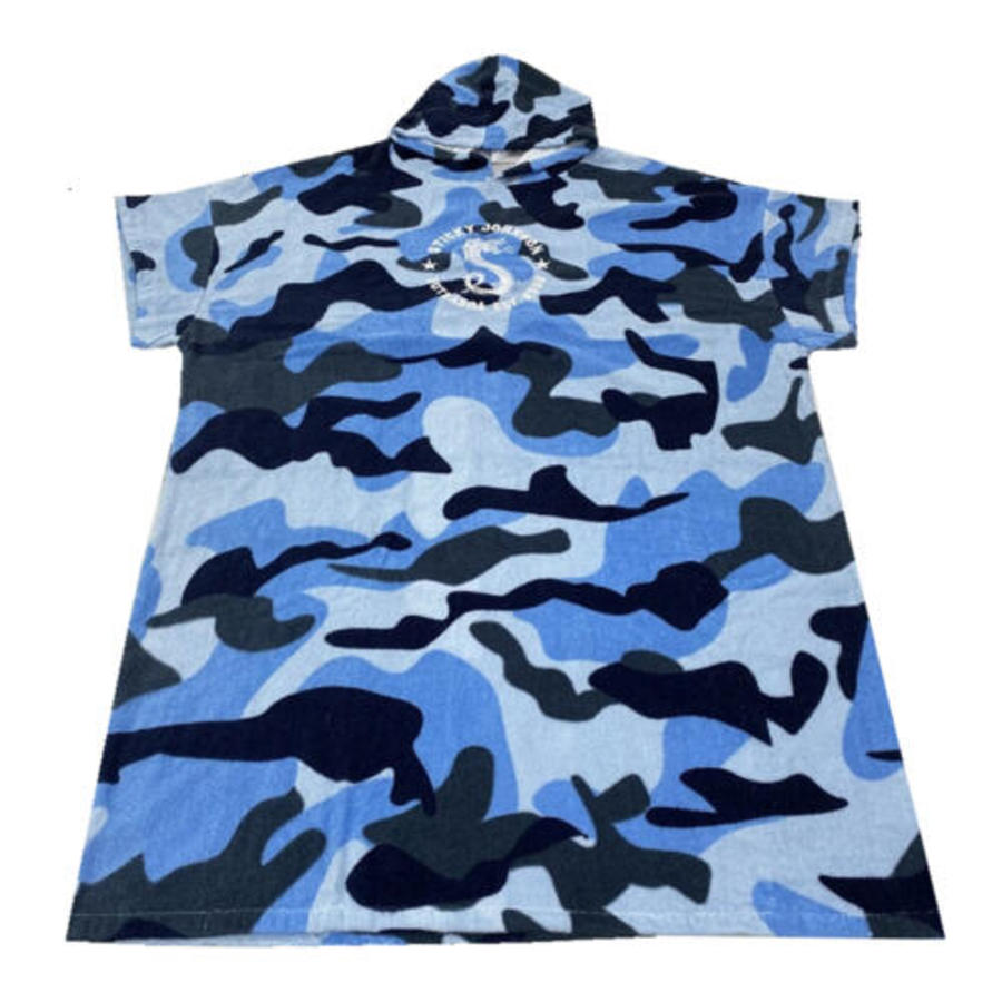 Sticky Johnson Hooded Towels/ Surf Poncho - Camo