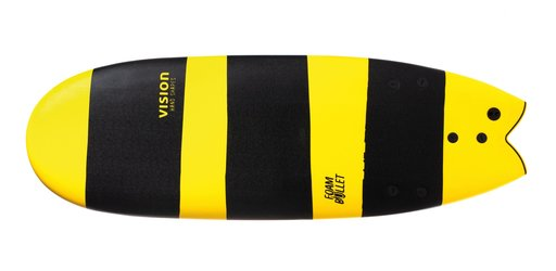 Foam Bullet 5'4 Vision Softboards